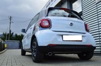 Auspuffblende Endrohr Smart Fortwo Forfour Typ 453 oval ab 2014
