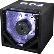 Crunch GTO-8BP Auto-Subwoofer passiv 400 W 4 Ohm Single-Bandpass-System