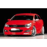 passend für Opel Astra GTC + Twintop Frontlippe GTC und TwinTop Rieger Tuning