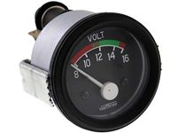 Veethree Voltmeter 8-16V, 52 mm OD Instrument PKW LKW Boot